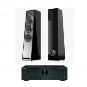 Pachet Amplificator Integrat Onkyo A-9050 + Boxe Acoustic Energy 305 desigilat