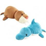 Mascota Jay At Play FlipaZoo 40 cm Morsa Delfin
