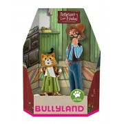 Bullyland Bully Land 46005 Toy Figure Set – Pettson and Findus in Gift Box Set of 2