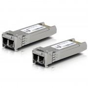 Modul SFP+ Ubiquiti UF-MM-10G, 10Gbps, 2xLC (Multi-Mode), 850nm, 300m, 2 Pack