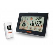 Higrometru Bresser Dmax controlat radio cu indicator ventilare