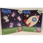 Kids Playtime Toddler Fun - 48 Pieces Jigsaw Puzzle 2 Piece SET Peppa Pig