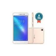 Smartphone Asus Zenfone Live Dtv 16GB + SD 16GB (TOTAL 32GB) Dourado Tela 5` 13Mp 2GB RAM 4G