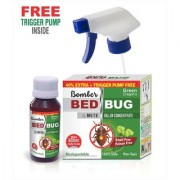 Green Dragon's Bomber Bed Bug Mite Killer Concentrate Make 600 ml Ready to Use