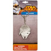 Falcon Star Wars - Millenium Falcon Metal Keychain