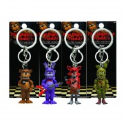 Llaveros Set 4 Piezas Funko Pop videojuego Five Nights At Freddys bonnie freddy foxy Springtrap