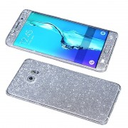 Folie Autoadeziva Samsung Galaxy Samsung S6 Fullset Silver Glitter