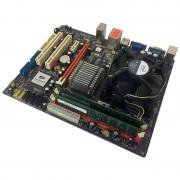 Kit Placa de baza ECS G31T-M + Intel Core 2 Quad Q9505 2.83GHz + 4GB DDR2 + Cooler