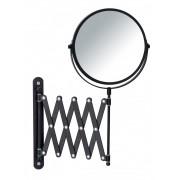WENKO Kosmetik-Wandspiegel Teleskop Exclusiv Schwarz