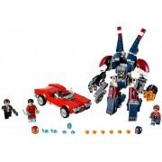 Lego 76077 LEGO Iron Man: Detroit Steel falls to