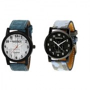 Gen-Z combo of 2 air force and social watches