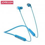 JOYROOM JR-D5 Double Moving Coil Sports Bluetooth Earphone with Mic - Blue
