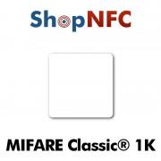 Etiqueta NFC NXP MIFARE Classic® 1k 35x35mm adhesiva