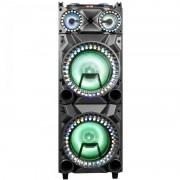 Преносима караоке система ZEPHYR ZP 9999 2G12, 2х12 инча, Bluetooth, USB, Жак за китара, AUX, 2 микрофона, Дистанционно