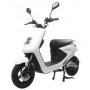 Scuter Electric LVNENG S4, Viteza Maxima 45 Km/h, Autonomie 80 Km, Motor 1000 W Bosch (Alb)