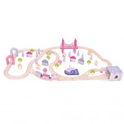 Bigjigs Rail BJT023 Fairy Town Train Set