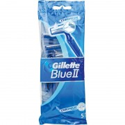 GILETTE BLUE II MAQUINILLAS AFEITAR DESECHABLES 5 UDS