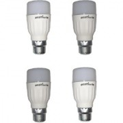 LED Bulb (Pack of 4) Orbit 3 Watt White Bullet Series LED Bulb B22 Cap