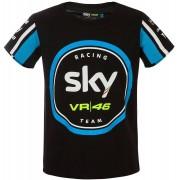 VR46 Sky Racing Team Camiseta de niño Negro Azul 4 - 5