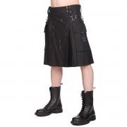 Kilt pour homme BLACK PISTOL - Denim - Noir - B-2-12-001-00