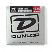 Corzi Chitara Bass Dunlop Super Bright Nickel 45-105