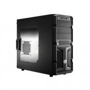 Skrinka CoolerMaster miditower K350, ATX, čiena, USB3.0, priehľ. bok, bez zdroja, príprava pre vodné chladenie