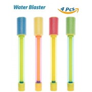Water Blaster, Shooters, 4 Pack Foam Water Gun Light Weight Water Soaker Water Shooter Summer Pool Beach Water Toy for Pool Fun Toy Pool Party Toy Beach Fun