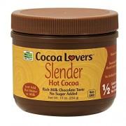 Now Foods Gusto rico del chocolate con leche del cacao caliente delgado 10 oz.