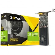 Placa video ZOTAC GeForce GT 1030 Low Profile, 2GB GDDR5, VGA, HDMI 2.0b