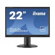 Iiyama B2280WSD-B1 LED-monitor 55.9 cm (22 inch) 1680 x 1050 pix WSXGA+ 5 ms DVI, VGA TN LED