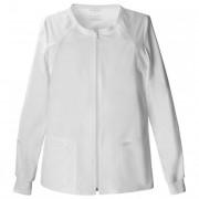 Cipzáros pamut felső Cherokee Uniforms fehér XL