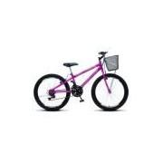 Bicicleta Colli 750 CBX Aro 24 Aero 21 Marchas Vermelho 120.16
