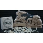 Dolfi Wood 3 D Puzzle Jigsaw Santa Sleigh Reindeer New!