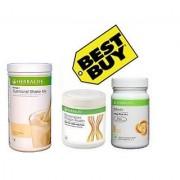 Herbalife F1 Vanilla F 3 Protein Powder Afresh Lemon
