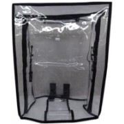 HANDCUFFS PVC COVERS 32- inches Transparent PVC Waterproof Protective Trolley Covers Luggage Cover(32 INCH, WHITE TRANSPERANT)