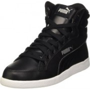 Puma Ikaz Mid Classic Sneakers For Women(Black)