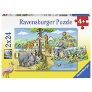 Puzzle Zoo, 2x24 piese