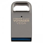 Флаш памет Corsair Flash Voyager Vega USB 3.0 128GB, Ultra-Compact USB Flash Drive, CMFVV3-128GB
