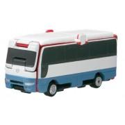 Bandai VooV VS10 Transforming Toy Car [Nissan Civilian - London Bus (Kindergarten Bus)]