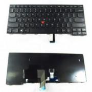 Клавиатура за Lenovo, съвместима със серия Thinkpad T440 T440P T440S L440 series Черна с Черна Рамка и Кирилица