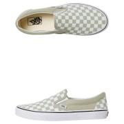 Vans Womens Classic Slip On Shoe Desert Sage White Desert Sage White