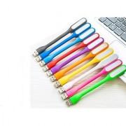 SCORIA 10 Pcs. Portable USB Flexible Mini LED Stick Light Lamp Light 10.7 Watt Led Light(Multicolor)