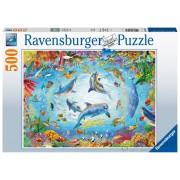 Ravensburger PUZZLE VARTEJ OCEAN, 500 PIESE