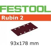 Festool STF RU2 Slippapper 93X178mm, 8-hålat, 50-pack P220