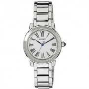 Seiko Analog White Dial Womens Watch - Srz447P1