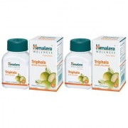 Himalaya Triphala Bowel Wellness 60 Tablets - Pack of 2