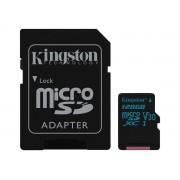 Kingston microSDXC + SDXC 128GB UHS-I (Class 10)