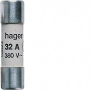 HAGER Cart. fusible 32A 10,3x38mm - HAGER LF142