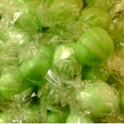 Sour Apples Fruit Flavoured Wrapped Edwardian Sweets