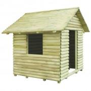 vidaXL Градинска къща за игра, импрегниран бор, 167x150x151 см